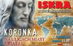 Czytaj więcej: Koronka do Bożego Miłosierdzia na ulicach miast świata!